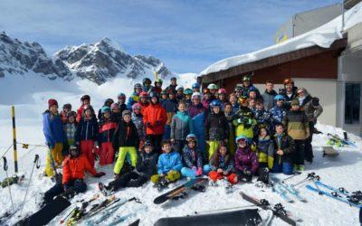 Schneesportlager der Primarschule Endingen