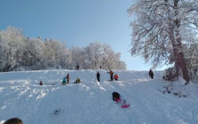 Viel Spass im Schnee